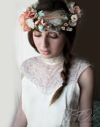 bridal crowns 5 summer wedding hairstyles with bohemian bridal crowns
