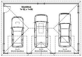size of a three car garage exterior 3 car garage size home desain 2018 with regard to alluring