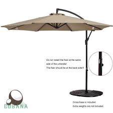 Overhang Patio Umbrella Top 10 Best Offset Patio Umbrellas In 2018 Reviews