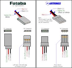 choosing rc servos for your airplane in servo wiring diagram
