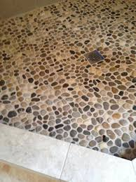 shower mats stunning home design design pebble stone shower floor floor tile installation shower