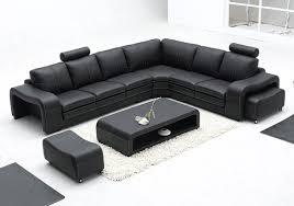 Big Leather Sofa Modern Italian Furniture Simple Style Big Size Living Room