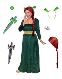 halloween costumes plus size sale plus size princess fiona costume from shrek plus size and