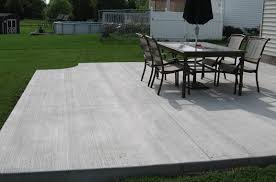 Cement Designs Patio Sted Concrete Patios Patio Companies Basic Backyard Cement