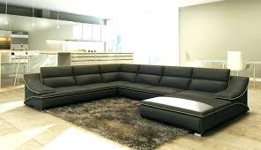 tres grand canap d angle grand canape design grand canape d angle canapac pas trop cuir noir