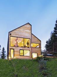Modern Barn House Barn Like House Overlooking Canada U0027s Wild Landscape Freshome Com