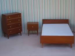 Best Modern Bedroom Furniture by Chic Mid Century Modern Bedroom Set Vintage Mid Century 2 Dresser