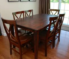 Dining Room Table Refinishing One Creative Housewife Refinished Kitchen Table