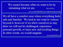 Other Words For Comfort Zone Joshua 18a
