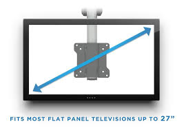 under cabinet television for kitchen extendable folding ceiling under cabinet tv mount amazon co uk