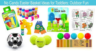 ideas for easter baskets for toddlers no candy easter basket ideas for toddlers richly