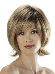 old fashion shaggy hairstyle blonde short hairstyles for older women above 40 and 50 hair