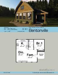 houseplans com cottage style cabin plan bentonville