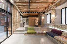 Brick Loft by Loft Mdp Refurbishment Of An Old Carpenter U0027s Workshop Into