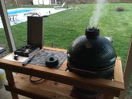 outdoor kitchen ideas u2014 big green egg egghead forum the