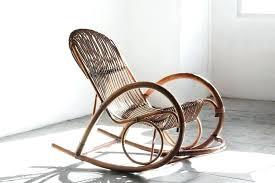 Mid Century Modern Rocking Chair Rattan Rocking Chair Mid Century Modern Rattan Rocking Chair By 2