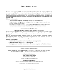 Sample Resume by Sample Resume For Sales And Marketing Professional