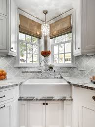kitchen sink backsplash picturesque farmhouse sink with backsplash houzz kitchen