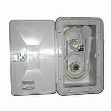 rv marine exterior shower box kit with shower faucet bathroom