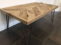 Wood Design Coffee Table by Best 25 Chevron Coffee Tables Ideas On Pinterest Pallet Table