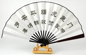 asian fan decorative asian bamboo silk fan wall buy asian