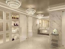 master bathroom with flat panel cabinets u0026 high ceiling zillow