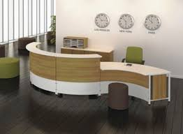 Round Reception Desk by Modern Minimalist Reception Desk For Small Space Finding Desk