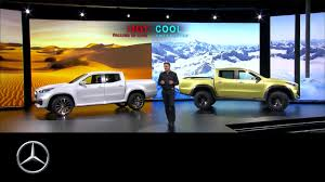 mercedes pickup truck live from sweden mercedes benz pickup u2013 the concept u2013 mercedes