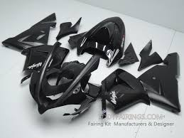 kawasaki 2004 2005 zx 10r oem black motorcycle fairing kit www