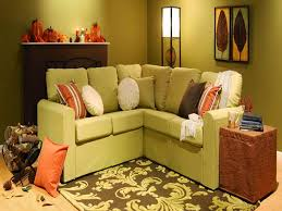 Green Sectional Sofa Furniture Green Sectional Sofa Style For Small Living Area With