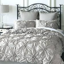 Ruffle Duvet Cover Full Full Image For Enchanting Ruched Duvet Cover Grey 101 Ruched Duvet
