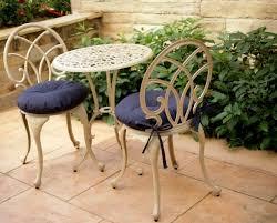 round garden chair cushion pad only waterproof outdoor bistro