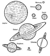 space travel planets coloring pages place color