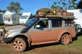 nissan pathfinder luggage rack nissan pathfinder travel around australia