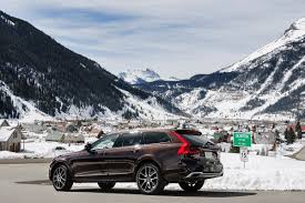v olvo the wagon is back into thin air with the volvo v90 cross country