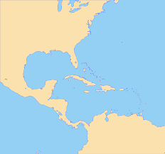 Caribbean Maps by File Caribbean Map Blank Svg Wikimedia Commons
