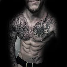 59 wonderful japanese chest tattoos ideas on chest golfian com