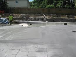 precision pools a pool construction project precision pools