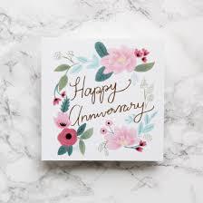 happy anniversary cards happy anniversary card sonni blush
