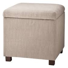 square storage ottoman herringbone tan kinfine target
