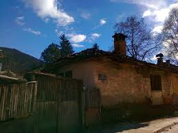 old architecture style of house in kicevo macedonia 6 photo