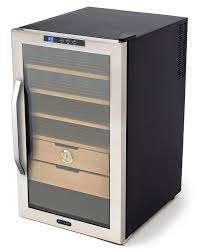 amazon com whynter chc 251s stainless steel 400 cigar cooler