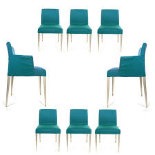 dining chairs b u0026 b italia set of eight dining chairs decor nyc