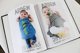 baby 1st year book mixbooker photo book idea baby s year mixbook