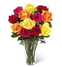 one dozen roses ftd bright spark one dozen roses bouquet nationwide florist delivery