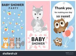 baby shower happy birthday card invitation stock vector 525972940