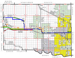 Route 66 Map by Odot Planning U0026 Research Division Route 66 Historic Maps