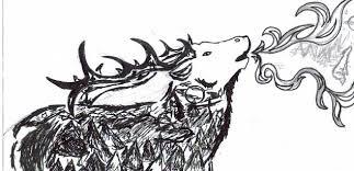 elk tribal by deathlypreserve on deviantart