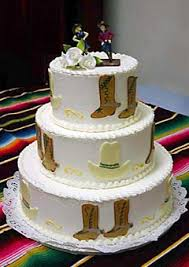 cowboy wedding cake toppers country western wedding cakes gallery