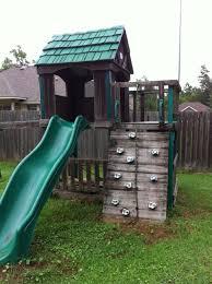 woodwork wood playhouse swing set t plans pdf plans